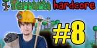 Terraria HC! - Part 8 (THE RULES OF MINING!)