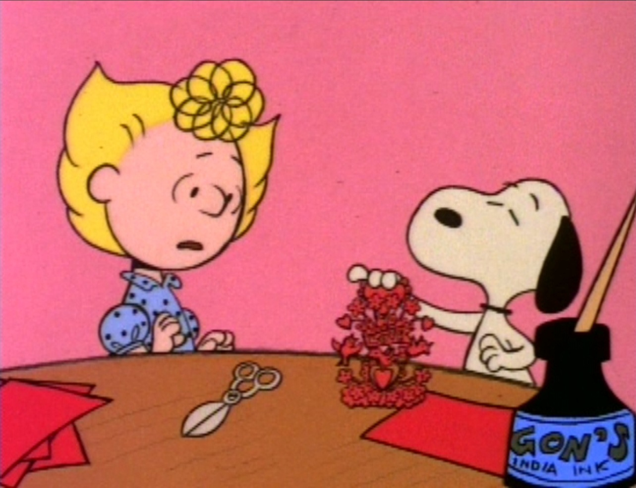 image charlie brown valentine24jpg peanuts wiki fandom powered by wikia - Charlie Brown Valentine Video