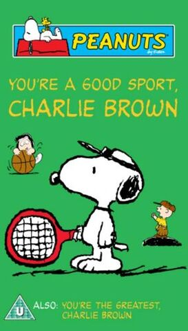 File:You're A Good Sport, Charlie Brown UK VHS 2005.jpg