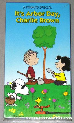 File:It's Arbor Day Charlie Brown VHS.jpg