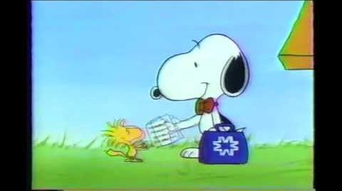 Woodstock and Snoopy Metropolitan Life Commercial