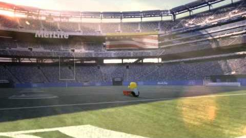 MetLife - National Anthem with Peanuts (Super Bowl 2014 Commercial)