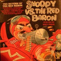 Snoopy vs the red baron cover