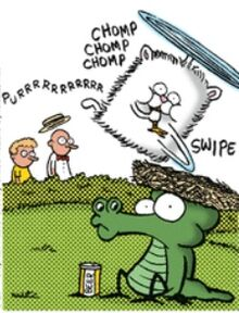 SNUFFLES EATS THE SOCCO MOCKINGBIRD
