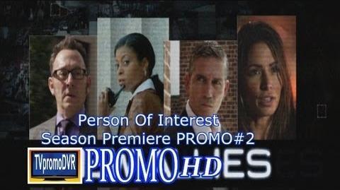 Person Of Interest Season 3 Promo 2 Teaser (HD ) Season Premiere Sept 24