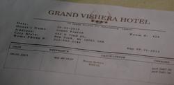 2x14 - Grand Vishera Invoice