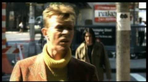 David Bowie Trent Reznor 'I'm Afraid Of Americans'