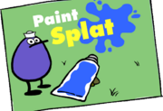Paint splat photo