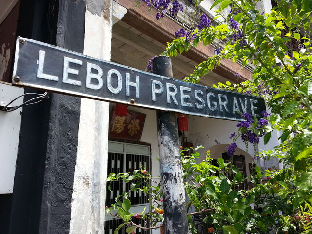 File:Presgrave Street sign, George Town, Penang (old).jpg