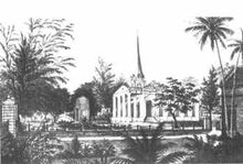 St. George's Church, George Town, Penang (old picture)