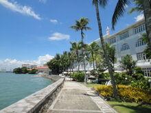 Eastern & Oriental Hotel seafront, George Town, Penang