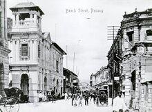 Beach Street, George Town, Penang (old)