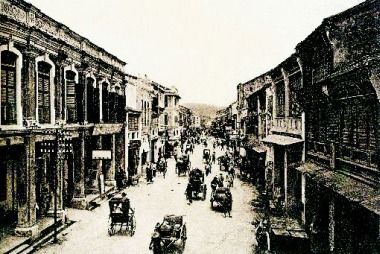 File:Chinese shophouses along Beach Street (old), George Town, Penang.jpg