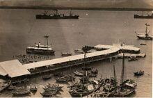 Church Street Pier, George Town, Penang (1930)