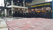 Whiteaways Arcade courtyard, Beach Street, George Town, Penang