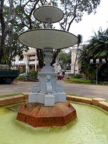 Municipal Fountain, Light Street, George Town, Penang