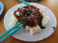 Chee cheong fun, Green Lane, George Town, Penang (2)