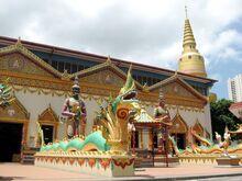 Wat chayamangkalaram, George Town, Penang