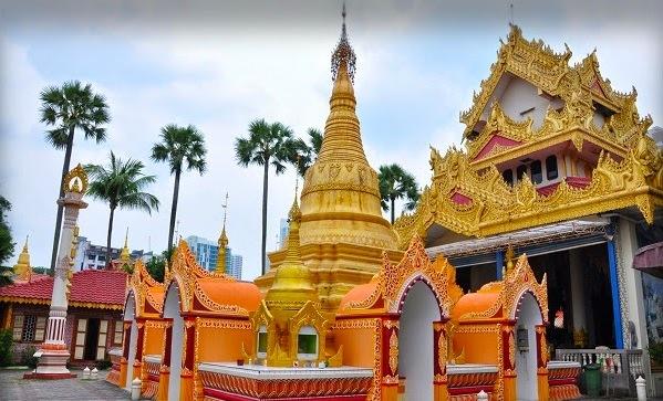 File:Dhammikarama Burmese Buddhist Temple Penang Malaysia - Golden Pagoda.jpg