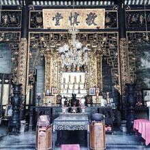 Pinang Peranakan Mansion temple, George Town, Penang