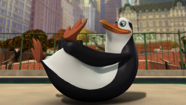 File:Brain Drain - Stupid Kowalski smelling his feet with eyes open.png