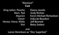 Election Voice Cast