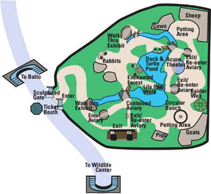 Childrens zoo map