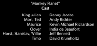 Monkey Planet Voice Cast