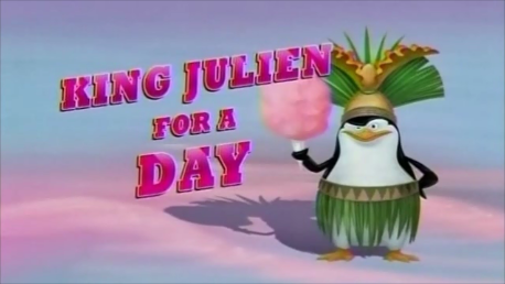 King Julien For A Day Title