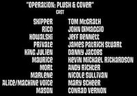Operation plush and cover Cast