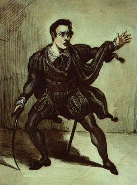 John Howard Payne Hamlet 1813