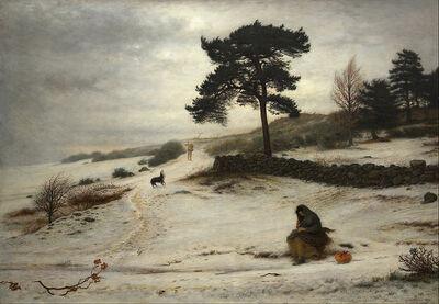 John Everett Millais - Blow Blow Thou Winter Wind - Google Art Project