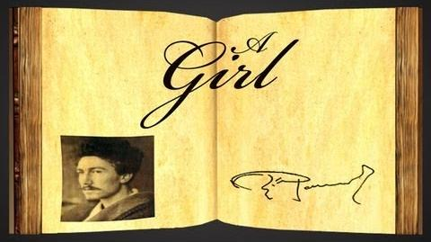 A Girl by Ezra Pound - Poetry Reading