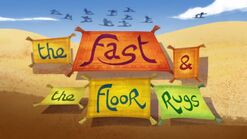The fast and the floor rugs