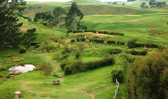Matamata (Hobbiton) New Zealand 7