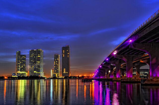 File:Miami Skyline II by Aerostylaz.jpg
