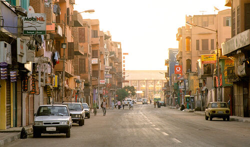 Luxor street