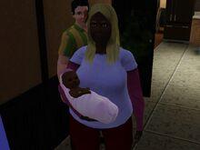 Dorothy Sekemoto And Baby
