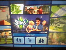 Wii The Sims 3-0