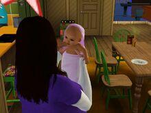 Sophia Ranjan And Baby-0