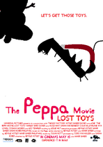 Peppa Movie Lost toys poster