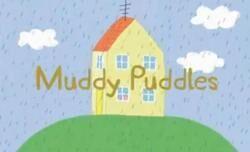 Muddy puddles card