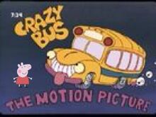 Peppa Interacts With Crazy Bus