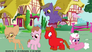 Peppa Pig ponies
