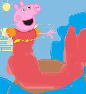 Peppa mermaid
