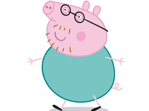 Image result for daddy pig