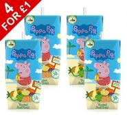 Appy peppa pig tropical 4 x 200ml