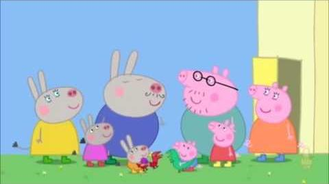 "Daddy Pig is an ""expert"" at French"