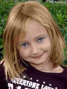 Laura Veto~little girl