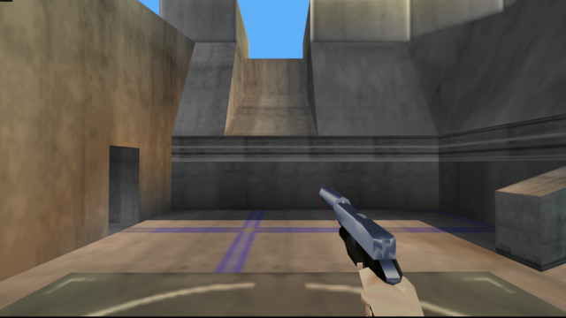 File:Perfect Dark Weapons - Falcon 2 (Silencer) (5).png